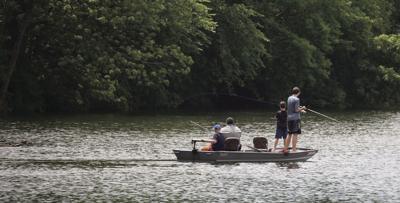 Fishing on Half Moon Lake