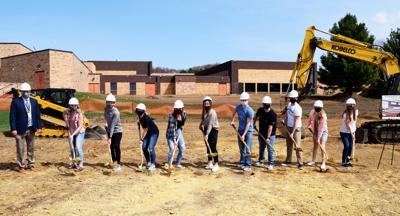 Elk Mound school district groundbreaking
