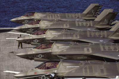 Lockheed Martin exceeds F-35 target