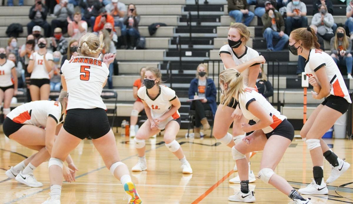 Osseo-Fairchild volleyball
