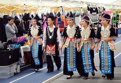 Youths absorb their culture at Hmong New Year celebration | Front