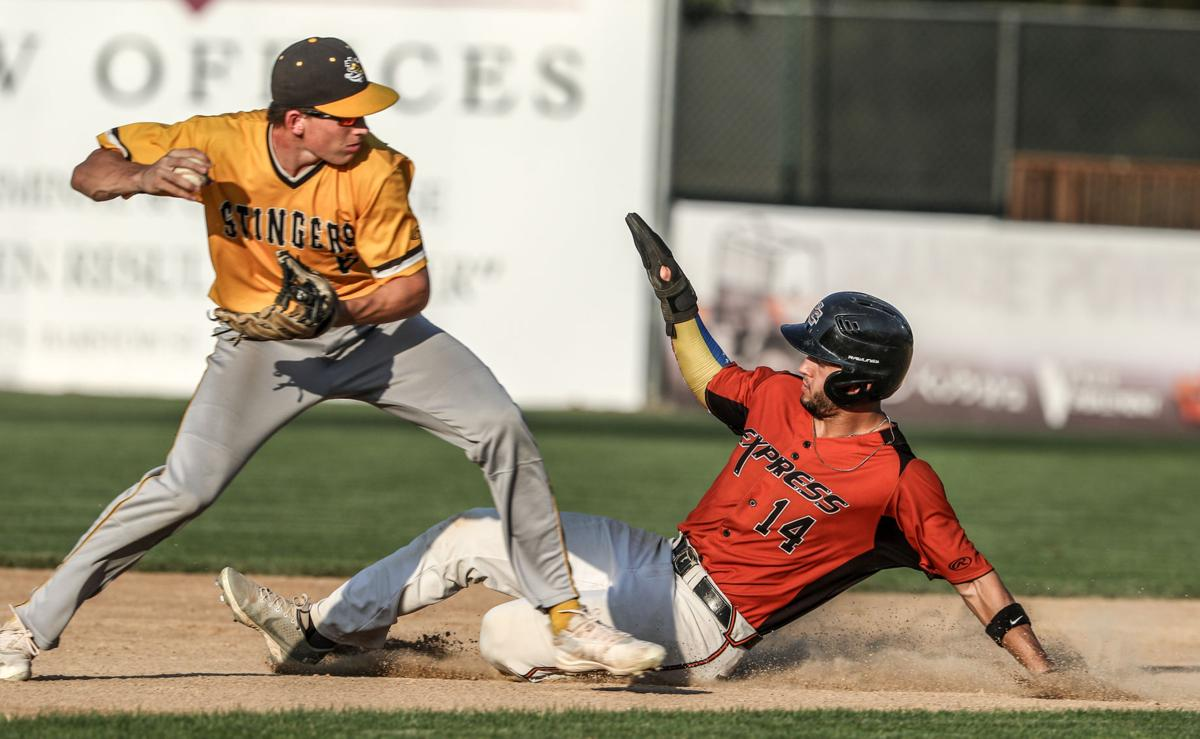Willmar Stingers at Eau Claire Express baseball