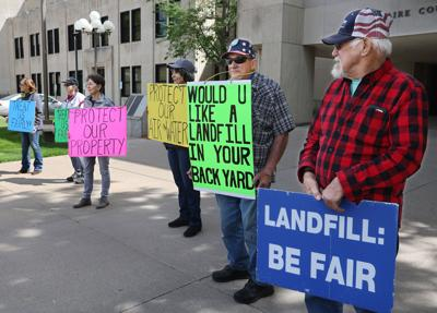 Landfill Protest