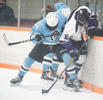 Eau Claire North vs. Eau Claire Memorial hockey