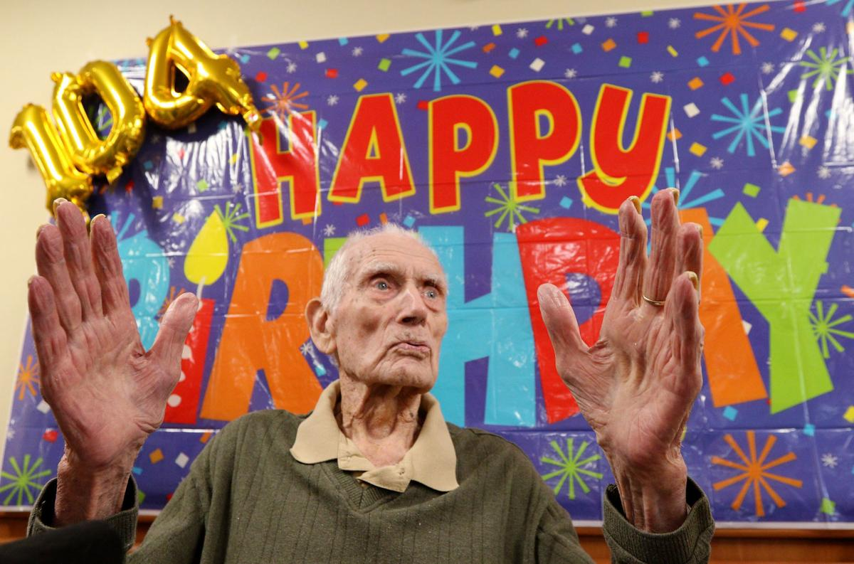 Harry Boehm Turns 104