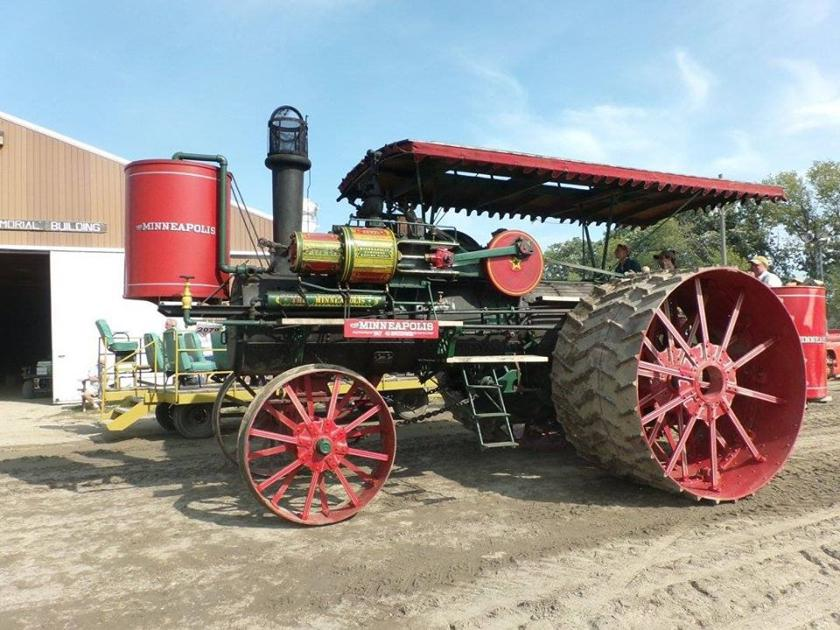 Rare treat: Agriculture heritage on display at Badger Steam