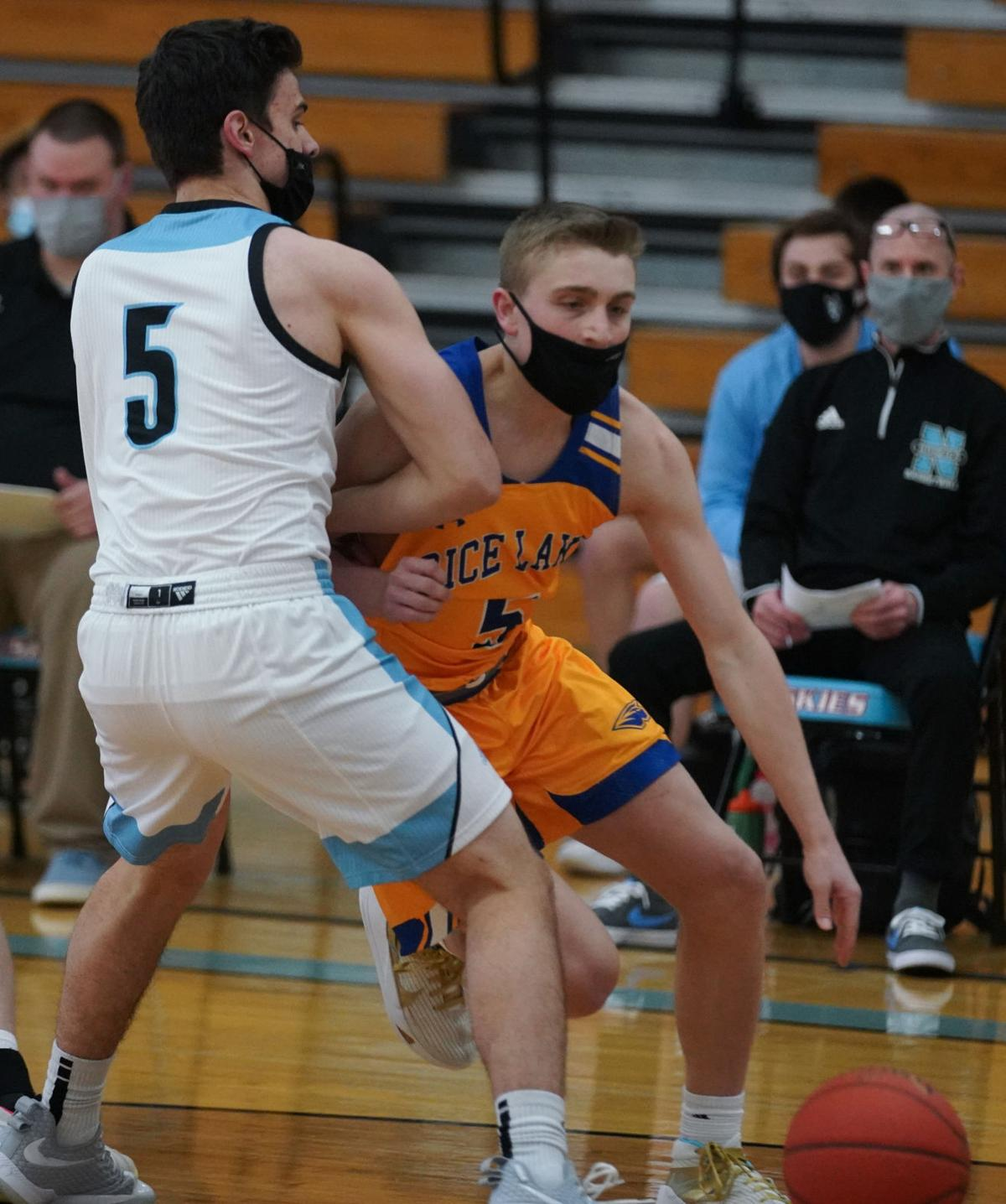 Eau Claire North Rice Lake boys basketball