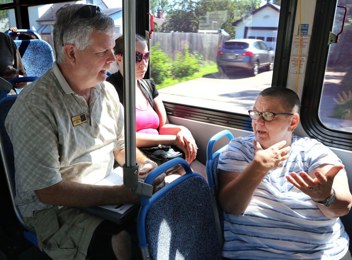 Listening On Bus