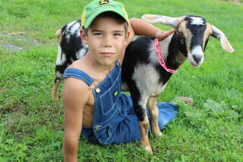 Arland family raising kids, making goat milk products