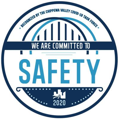 Committed to Safety decal