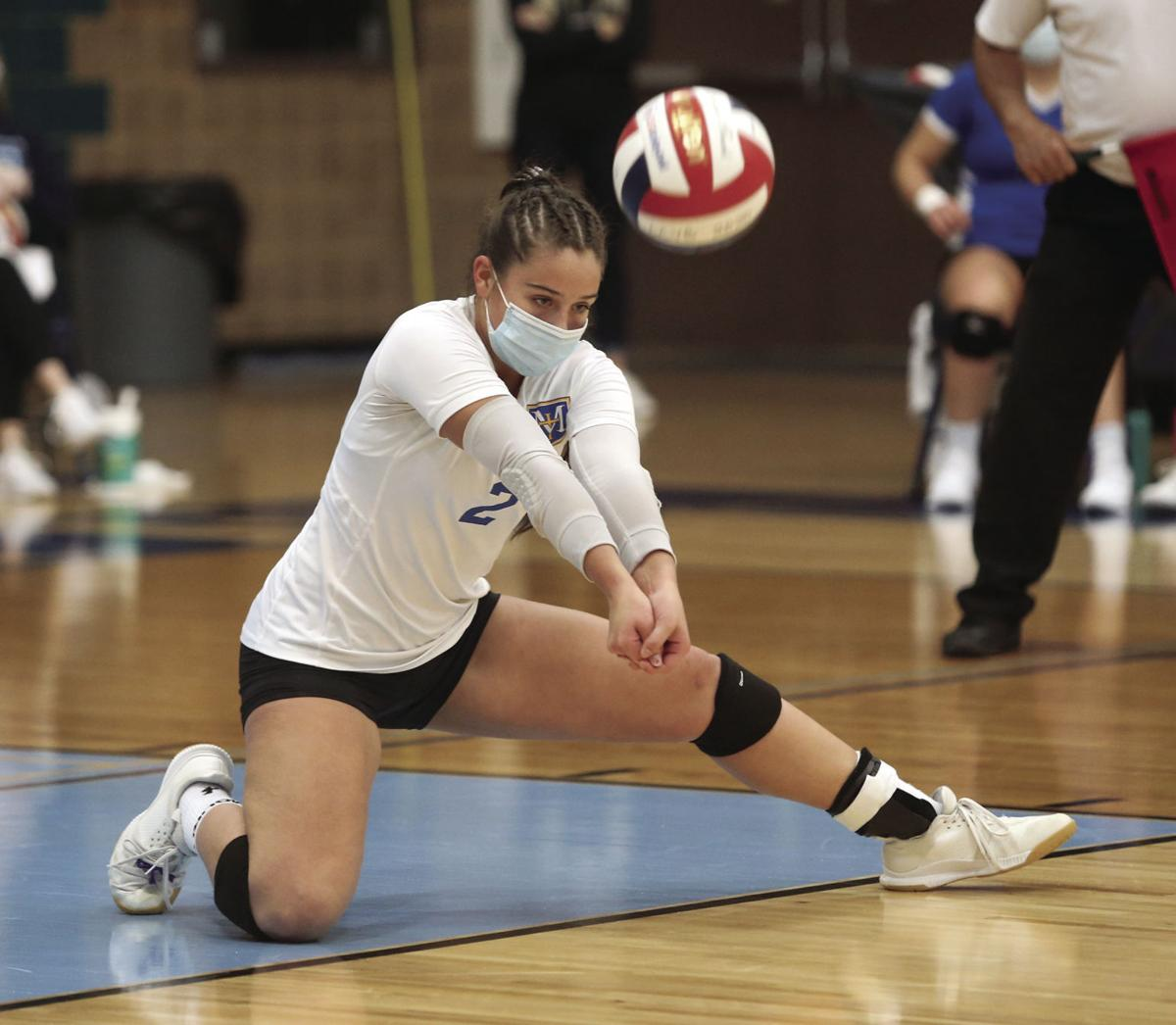 McDonell Prentice volleyball