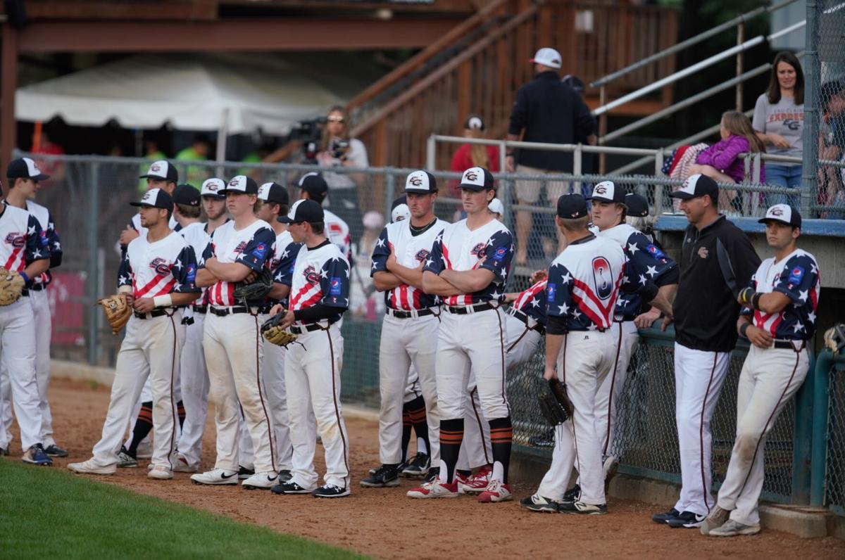 Rochester Honkers at Eau Claire Express baseball