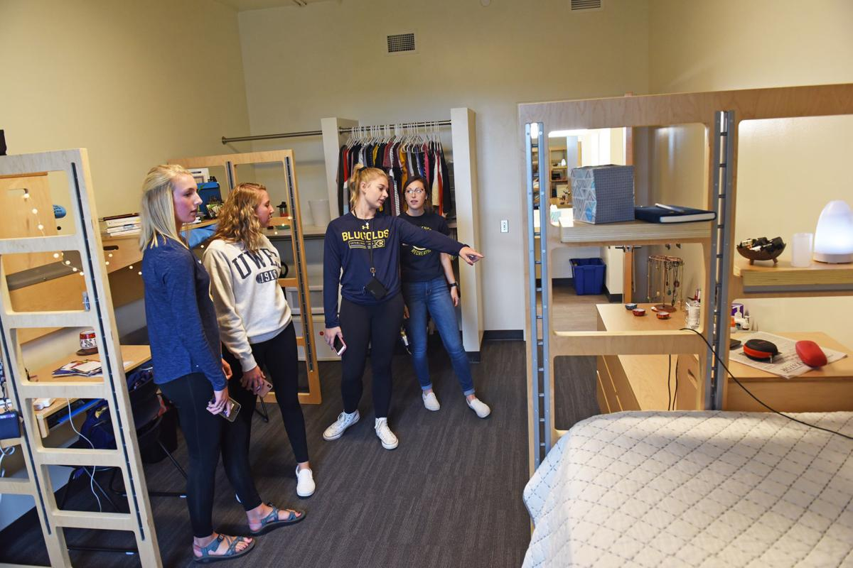 UW-EC celebrates opening of new dorms, first new hall since 2000