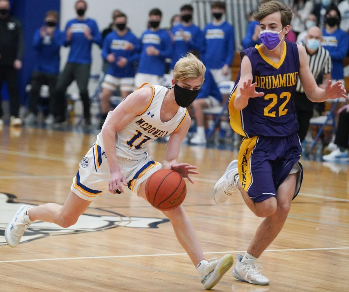 Drummond at McDonell boys basketball