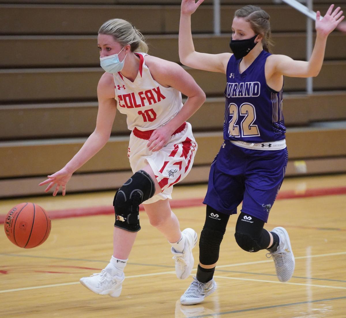 Durand Colfax girls basketball