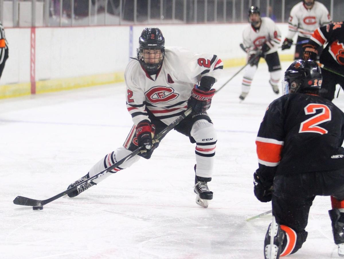 Isaac Lindstrom state hockey