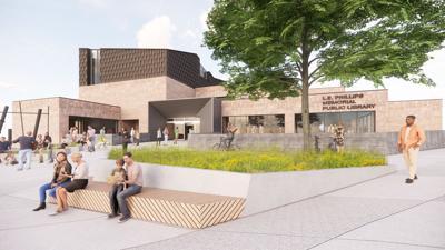 L.E. Phillips Memorial Public Library project