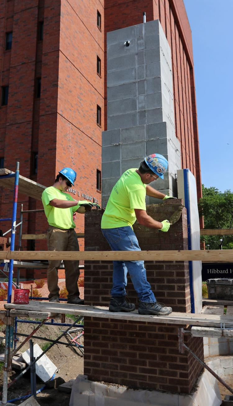 Campus gateway to be completed mid-August