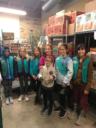 Girl Scout milk donation match