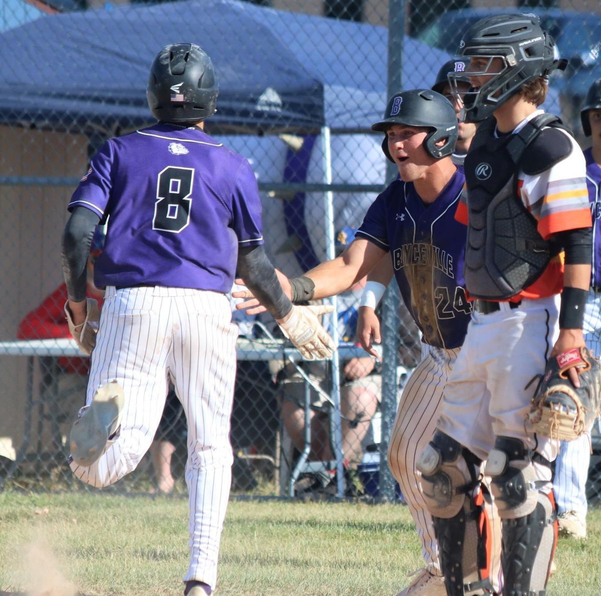 Boyceville vs Webster baseball