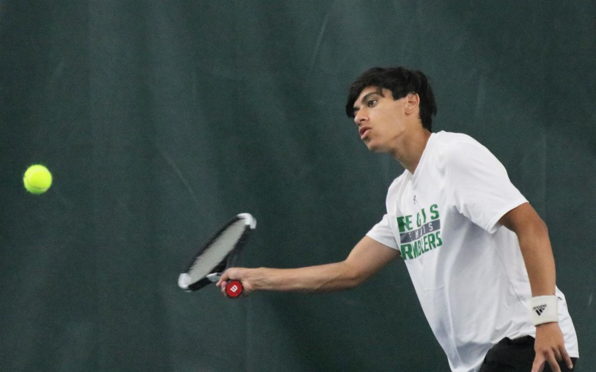 Division 2 boys tennis sectional