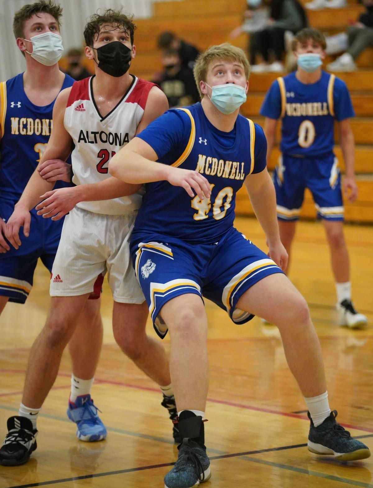 McDonell at Altoona boys basketball