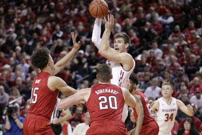 Wisconsin Nebraska Basketball