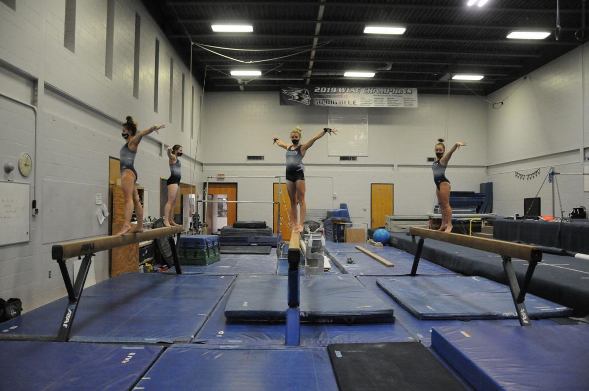 2021 Gymnastics Fall Practice