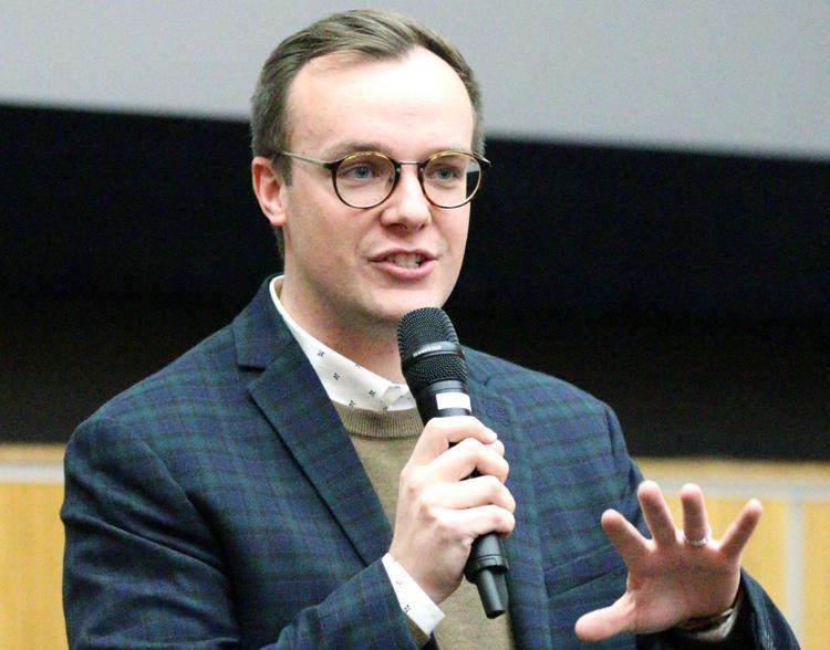 Former Blugold Buttigieg talks husband's presidential bid