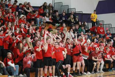 Memorial student section