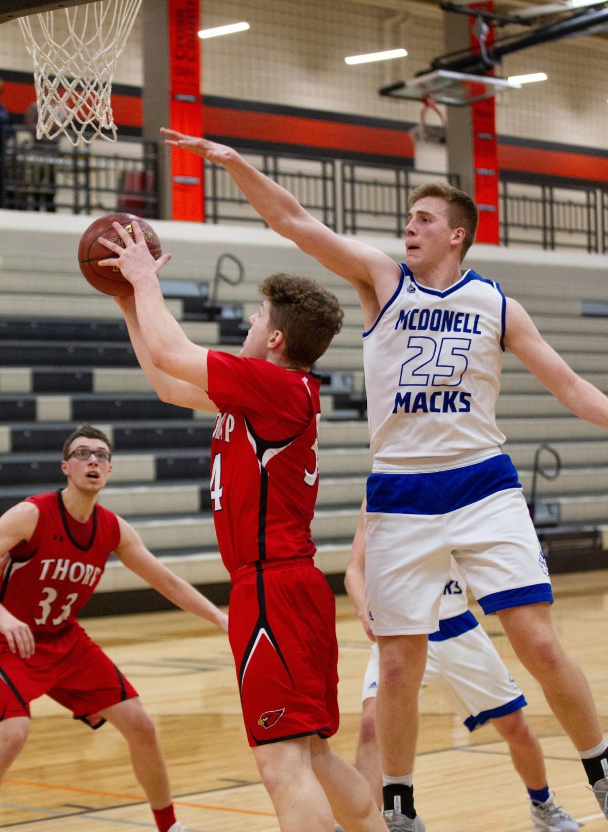 McDonell Thorp boys basketball
