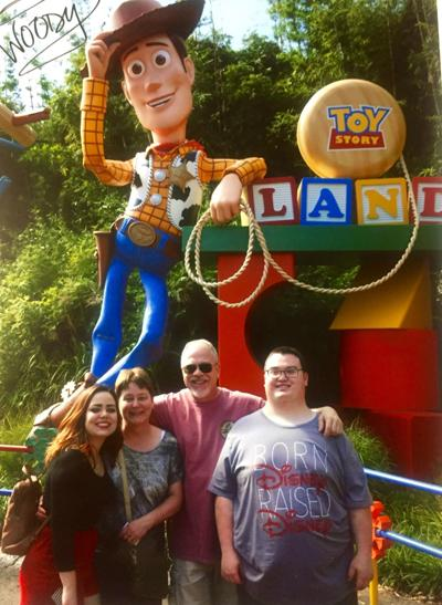 Sami at Disney World