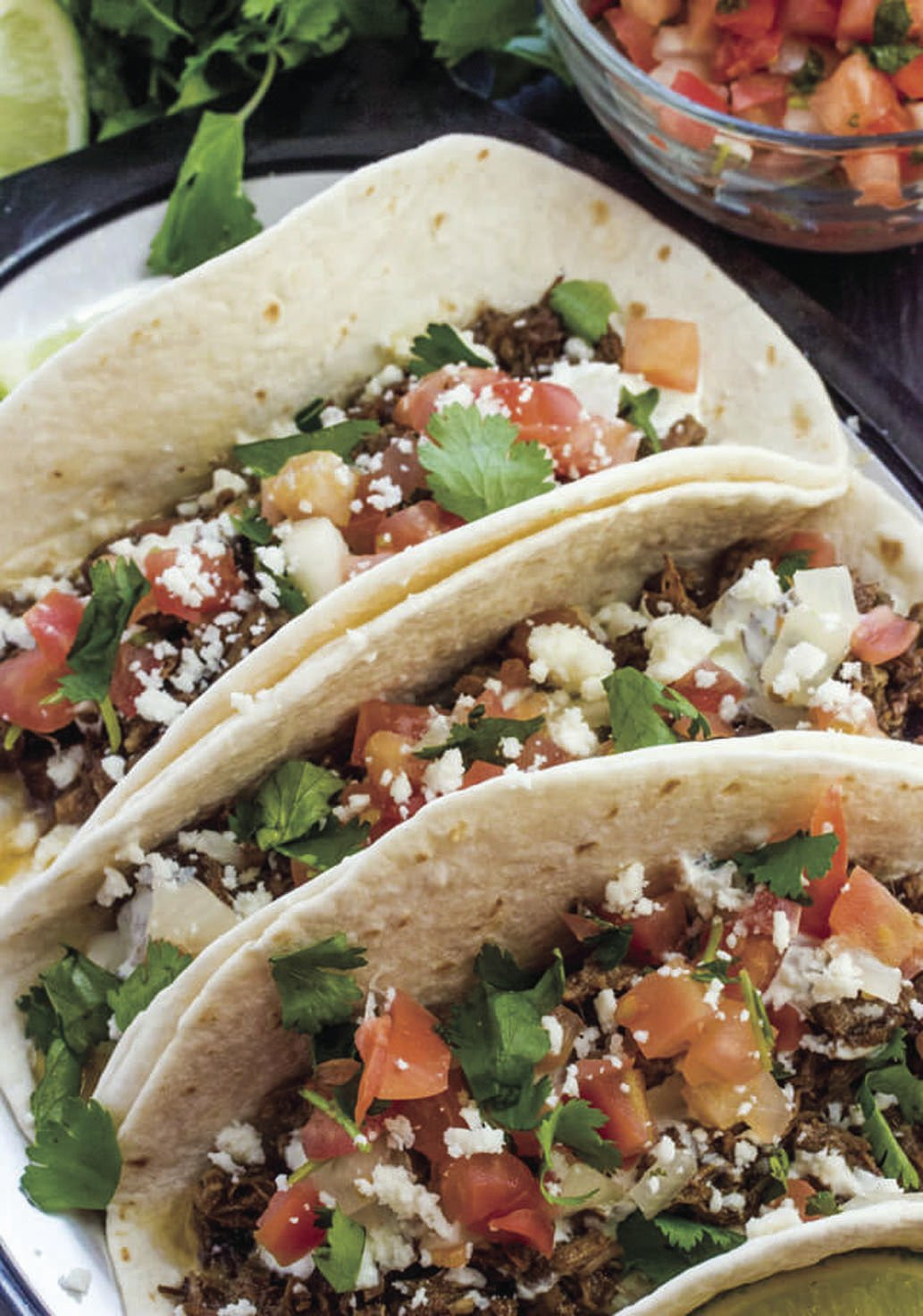 slow cooker street tacos