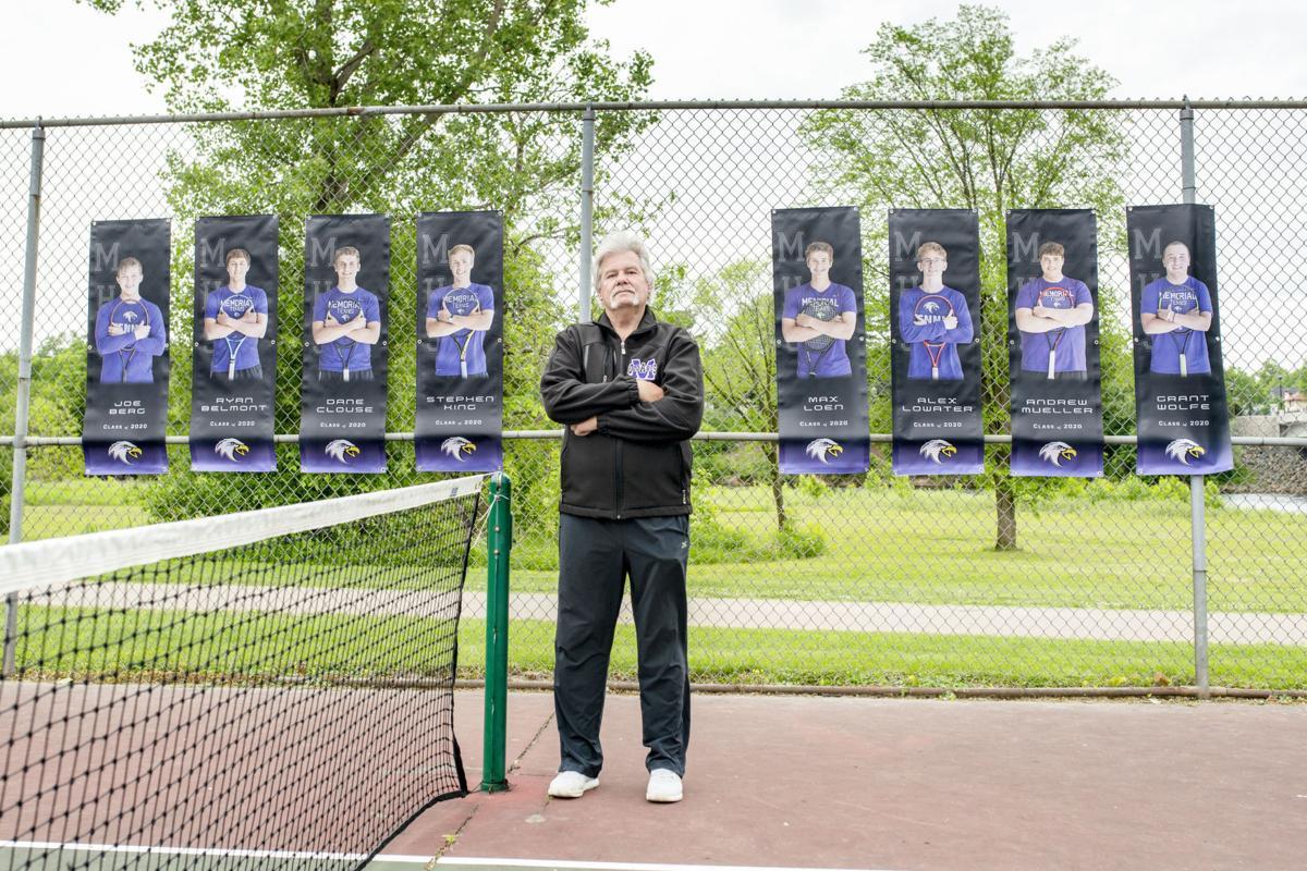 Jim Litscher Eau Claire Memorial tennis