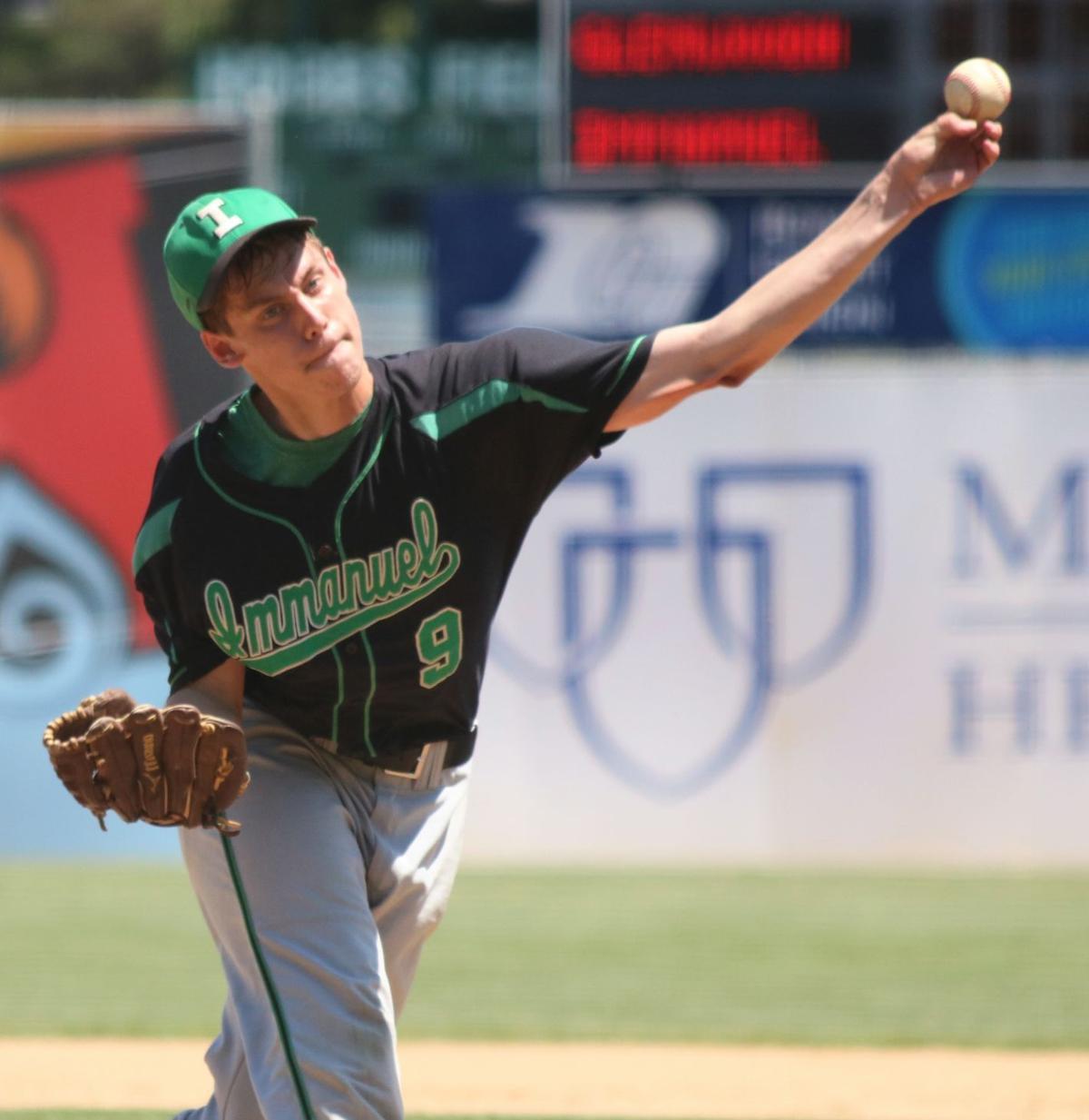 Glenwood City at Immanuel Lutheran baseball