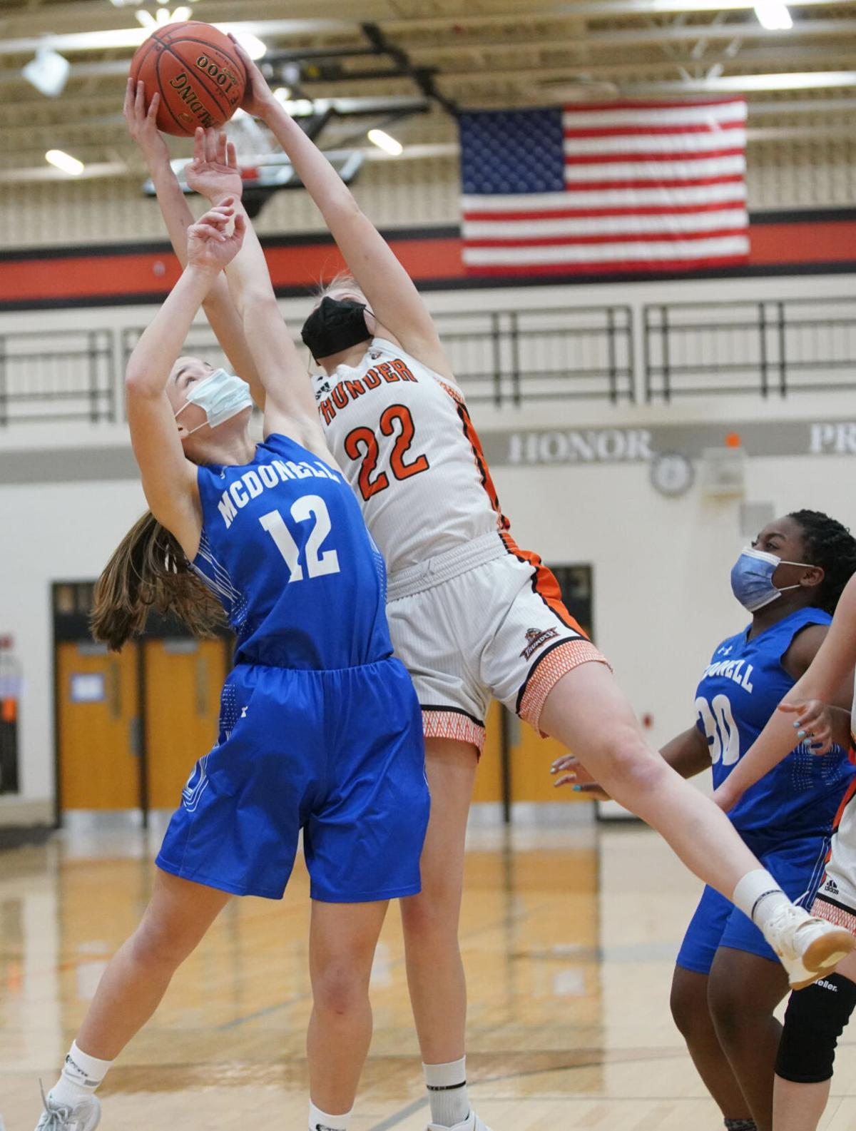 Osseo-Fairchild McDonell girls basketball