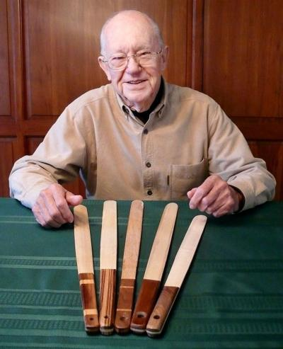 Area Woodworker Turns Out The Lefse Sticks Front Page Leadertelegram Com