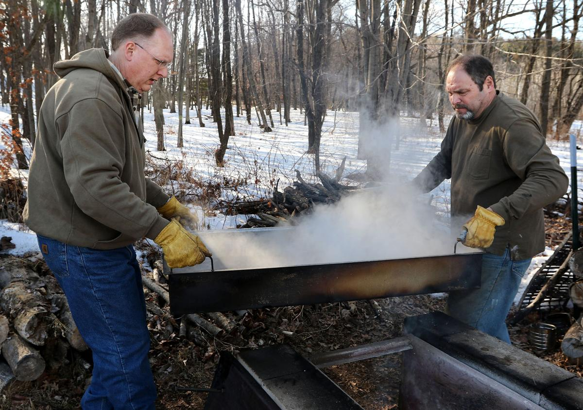 Eau Claire area man revives family tradition of making homemade maple syrup