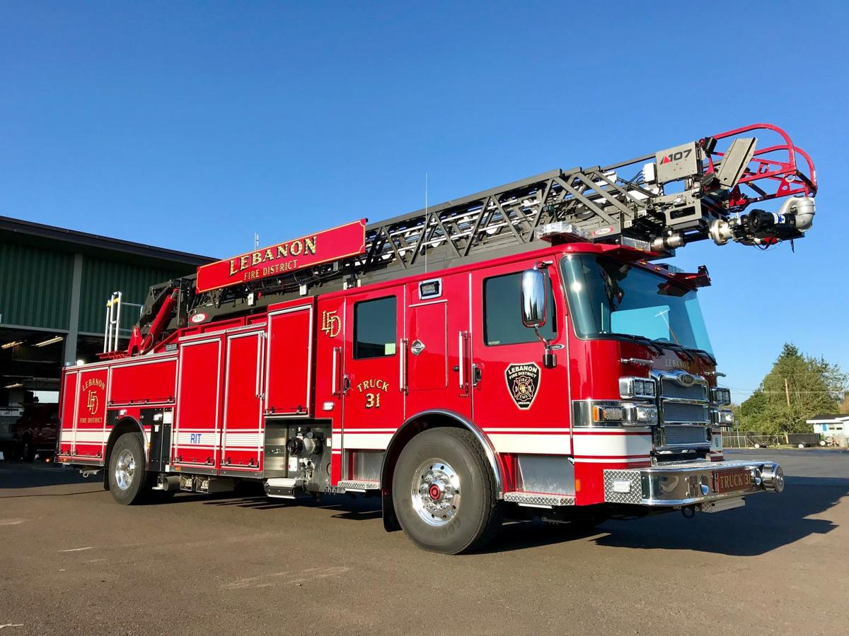 Lebanon Fire District ladder truck