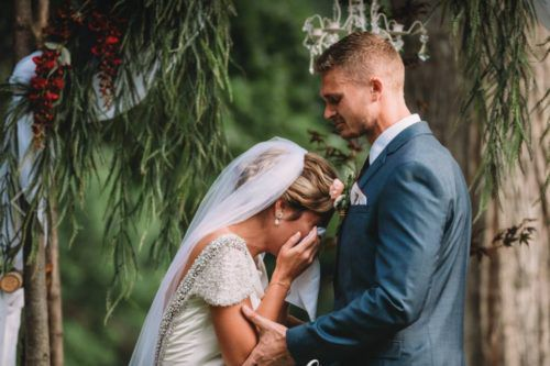 Groom Surprises Bride With Vows Delivered By Her Late Grandfather
