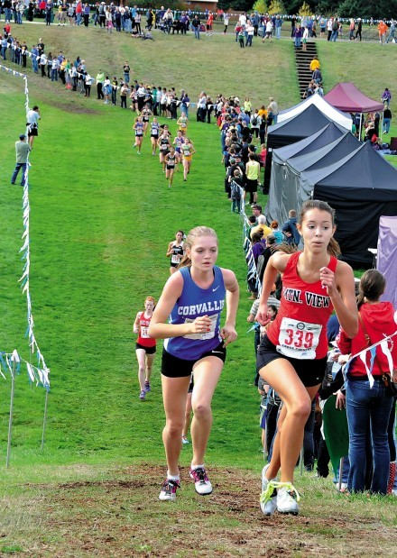 State cross country: Corvallis girls