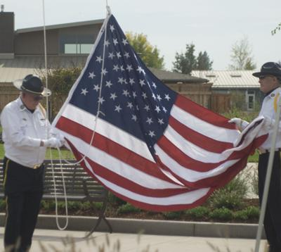 Flags dedicated at Lebanon VA home | Local | lebanon-express com