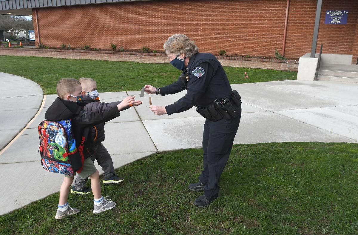 police at school