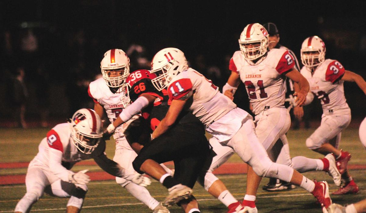 Gallery: Lebanon at Central football