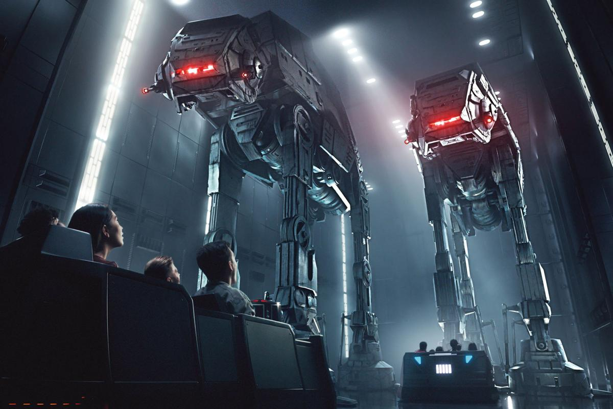 Disney guests will traverse the corridors of a Star Destroyer on Star Wars: Rise of the Resistance and join an epic battle between the First Order and the Resistance -- including a face-off with Kylo Ren -- when Star Wars: Galaxy's Edge opens in summer 2019 at Disneyland Resort in California and fall 2019 at Walt Disney World Resort in Florida.
