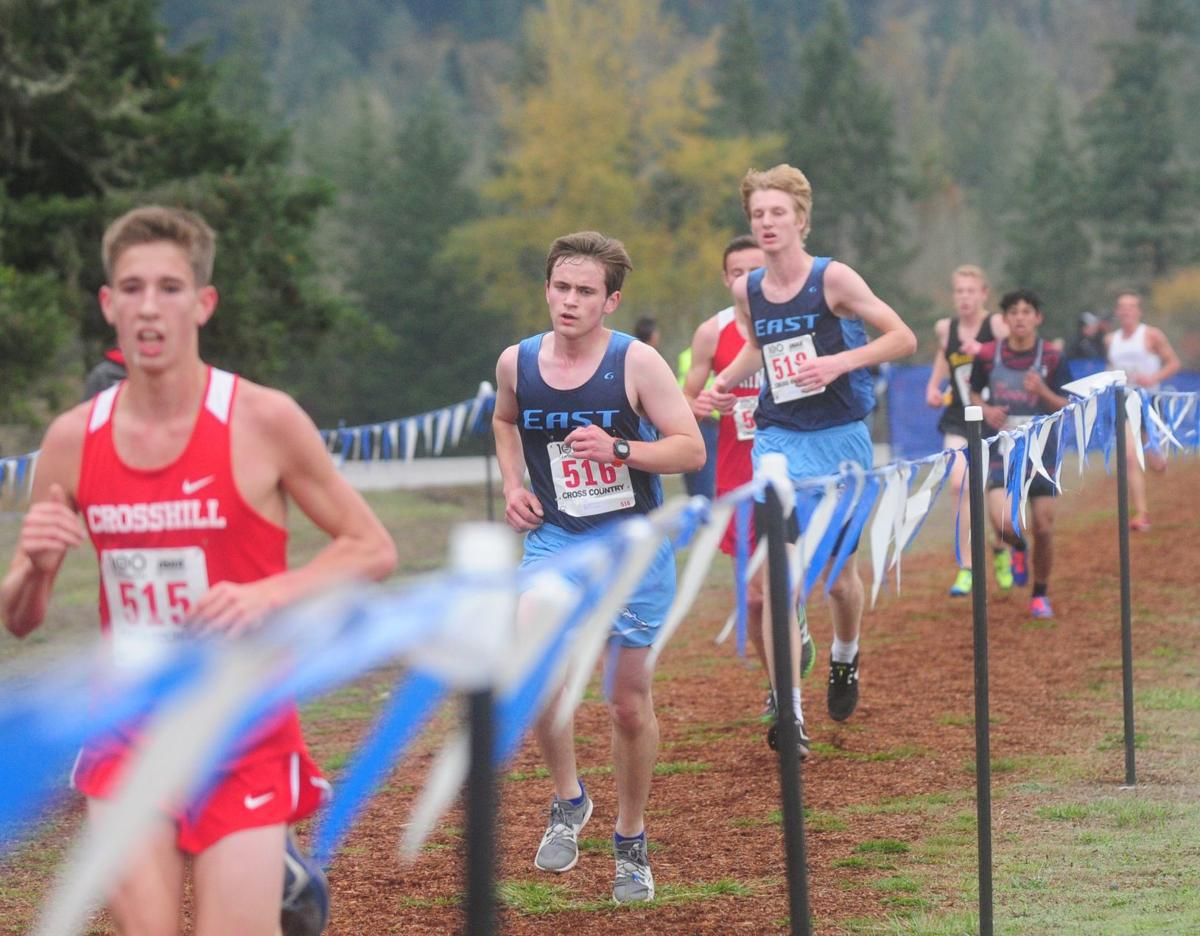 2018 State cross country: Burns and Slayden