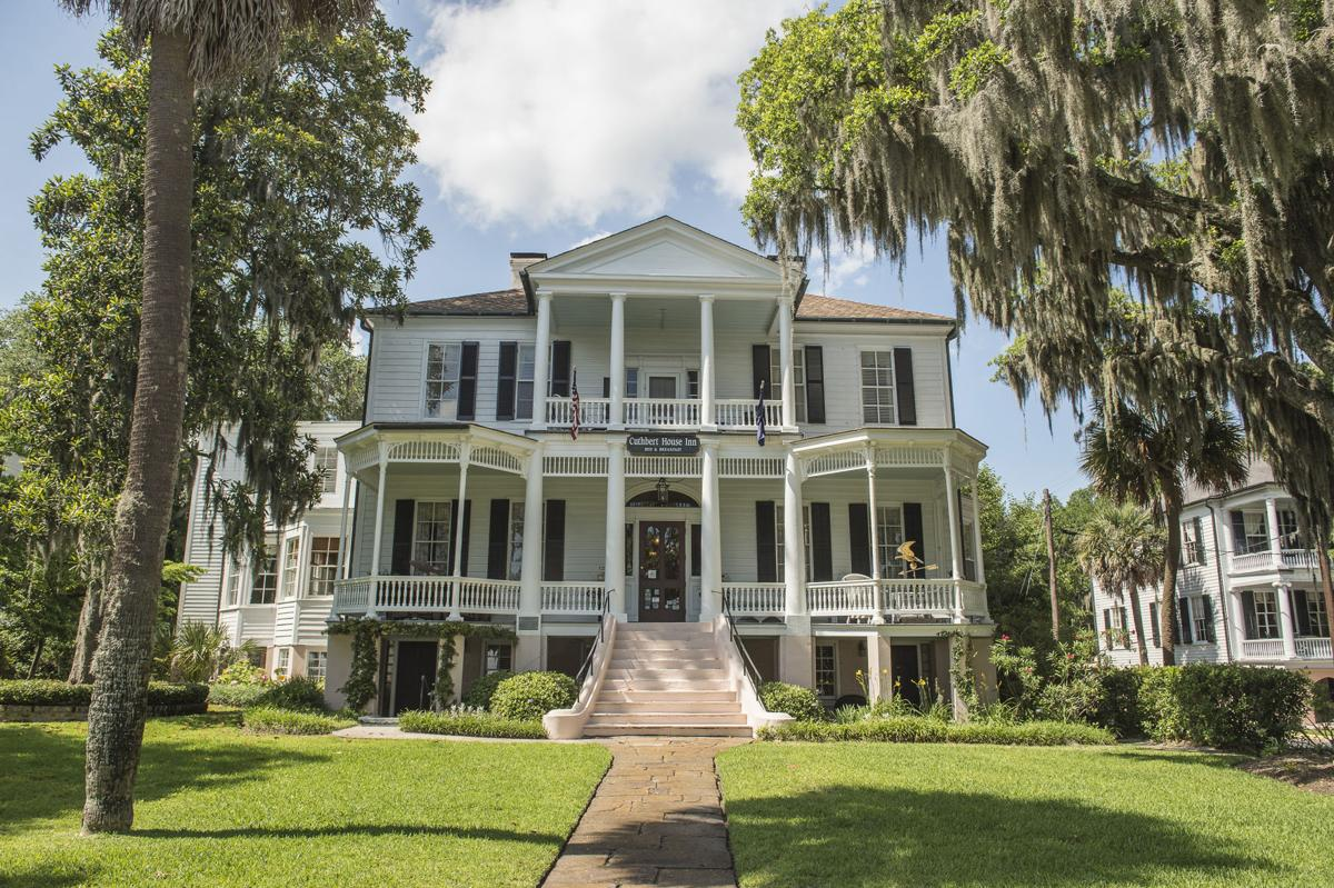 Beaufort's downtown, with its antebellum homes, has been named a National Historic District.