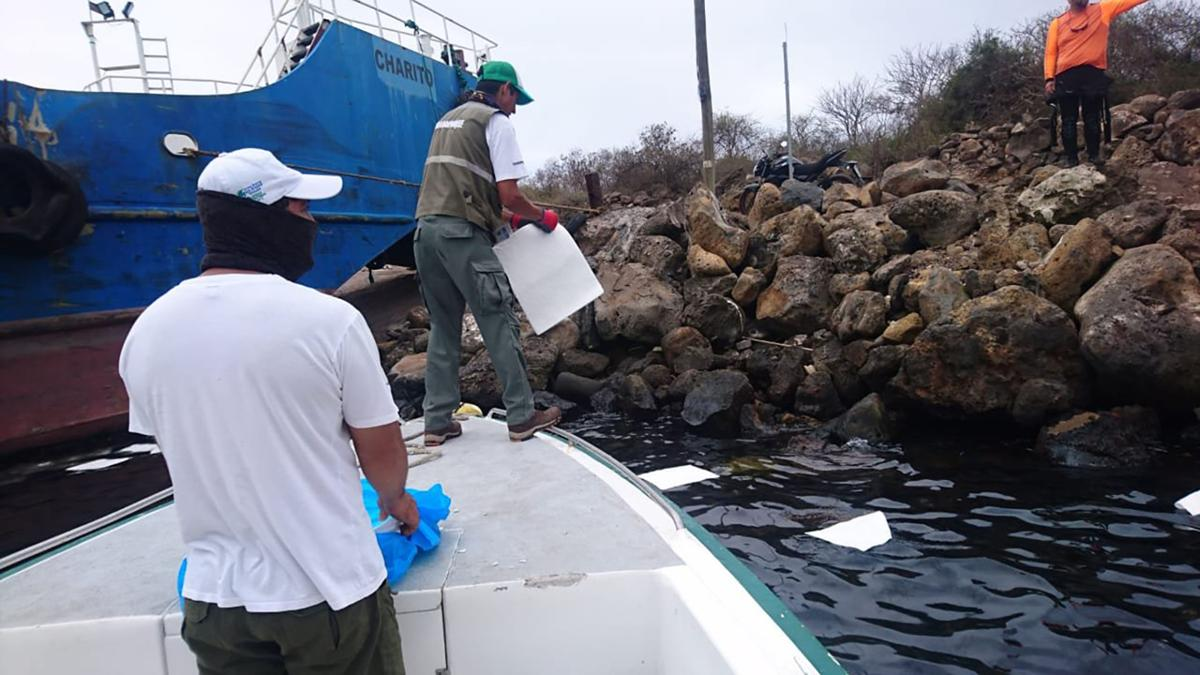 Galapagos Islands oil spill