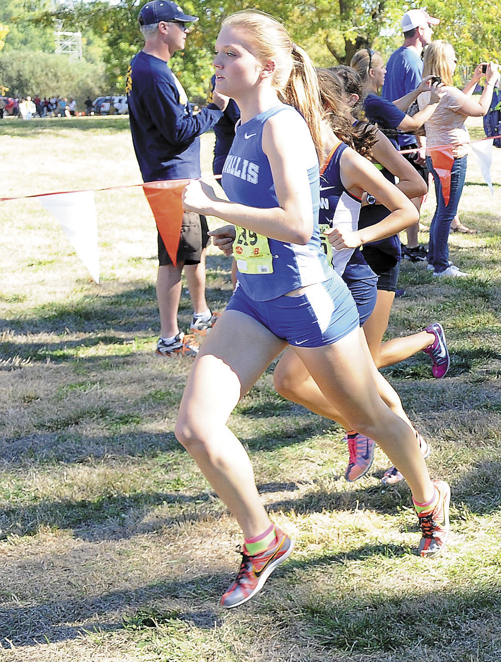 CHS cross-country: Justine Feist