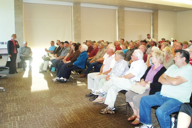 Cougar town hall meeting